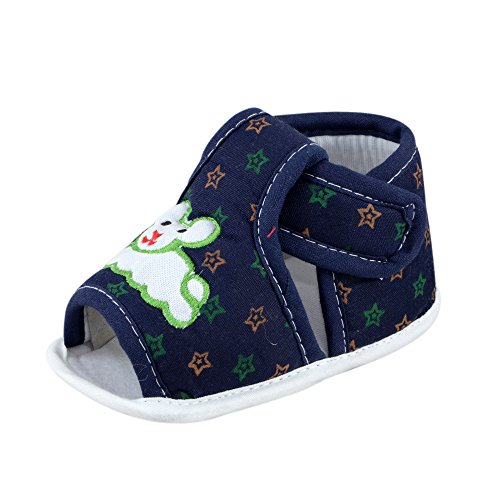 Infant Sandal For Baby Girl and Boy Age Group 6-18 Months Soft Fabric Shoes For Kids By Instabuyz