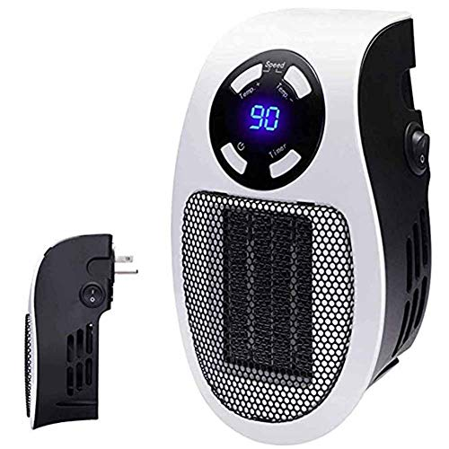 DONG Calentador Portátil Mini Calentador Minutero