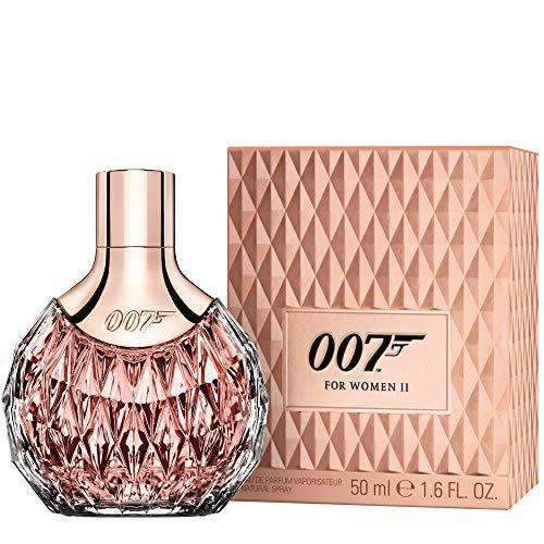 James Bond 007 for Women - Eau de Parfum Natural Spray II - Blumig, orientalisches Damen Parfüm - perfekter, langanhaltender Tagesduft - 1er Pack (1 x 50ml) -