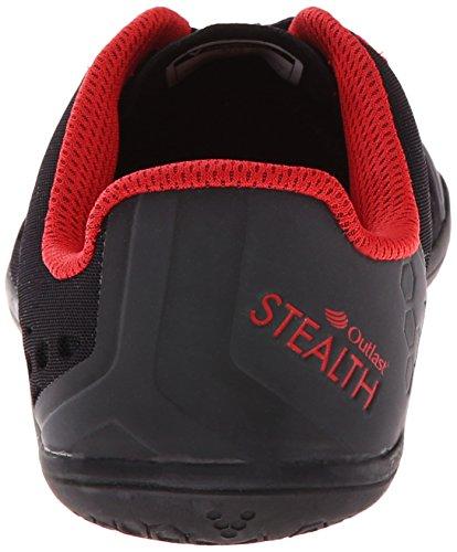VivoBarefoot Stealth 2 Women's Scarpe Da Corsa - SS17 Nero (nero)