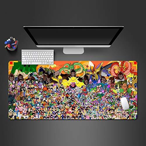 Schöne Schwarze Kunst-Mausunterlage Superqualitäts- waschbare Mausunterlage-Spiel-Spielerauflage zur Spielkunst- Mausunterlage- Gummitabellenmatte 800x300x2 -