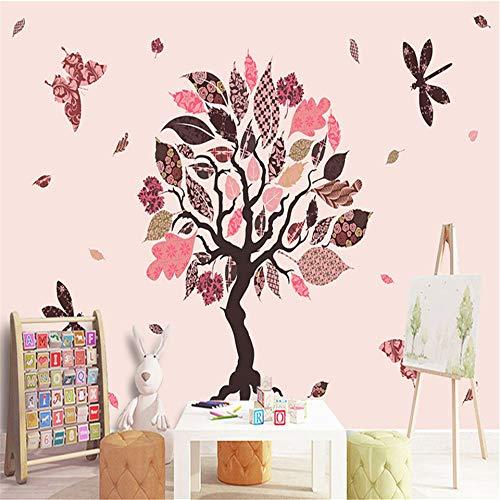 3D Foto Cartoon Benutzerdefinierte Tapete Schöne Schlafzimmer Kinderzimmer Hintergrund Wandbild Bäume Tapete Wohnkultur Tapeten Dzyzbz -400cmx280cm - 400 Dekorative Akzente