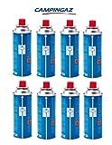 Campingaz CP250 - 8x Cartouches de gaz pour réchaud