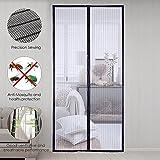 sinbide Fliegengitter Tür Magnetverschluss Fliegengitter Vorhang Vorhang Magnet