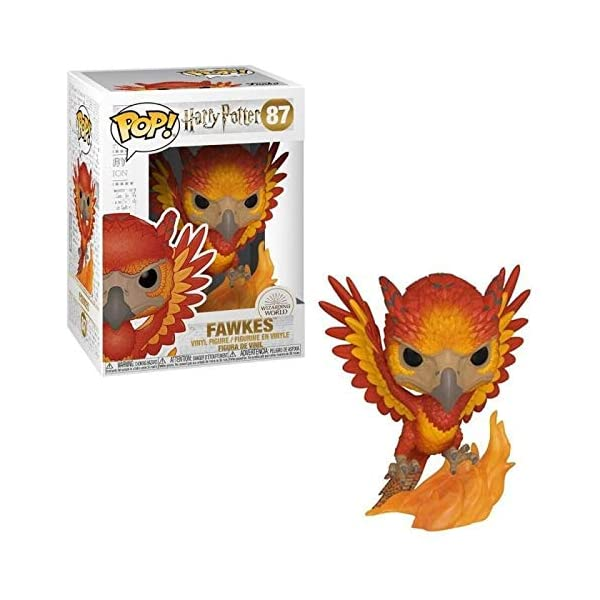 Funko Pop Fénix Fawkes (Harry Potter 87) Funko Pop Harry Potter