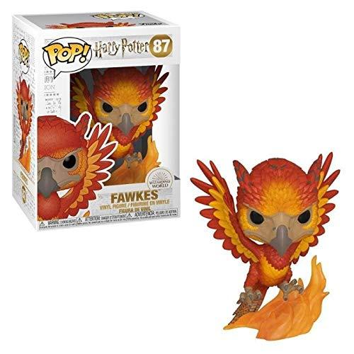 Funko 42239 POP Vinyl: Harry Potter S7-Fawkes Sammelbares Spielzeug, Mehrfarben, Einheitsgröße