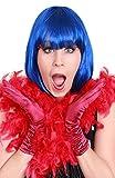 krautwear® Mujer Bufanda Boa Boa Muelle 180cm Carnaval fastel Noche fastnacht