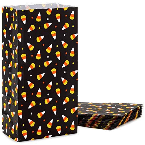 (Hallmark 5HGB1837 Candy Corn Gift Sack Pack Geschenktasche Papier schwarz)