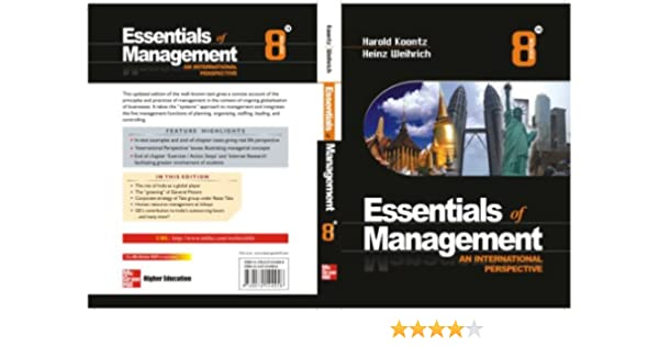 Buy Essentials For Management : An International Perspective Book