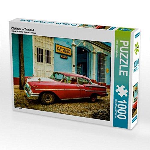 CALVENDO Puzzle Oldtimer in Trinidad 1000 Teile Lege-Größe 64 x 48 cm Foto-Puzzle Bild von Jens Benninghofen