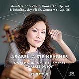 Mendelssohn Violin Concerto, Op. 64 & Tchaikovsky Violin Concerto, Op. 35 (SACD plays on all cd players)