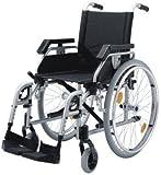 Rollstuhl PYRO LIGHT silber SB 45cm FeBr