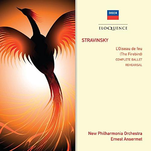 Der Feuervogel-Probe und Aufführung