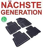Passform Fussmatten Gummimatten Schalenmatten AZ passend für das von Ihnen ausgewählte Fahrzeug, siehe Artikelbeschreibung