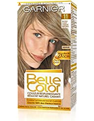garnier belle color coloration permanente blond 11 blond clair cendr naturel lot de - Coloration Blond Cendre