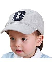 Tyidalin Casquette de Baseball Bébé Garçon, Chapeaux de Soleil Protection  Enfants d été Anti-UV Plage en Coton 6… 9033cef8529