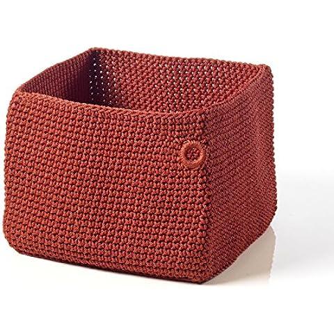 Arzberg Bread Basket Cesta per il Pane, Red, 18 x 18 cm, 49901-609009-05688