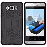 Dream2cool FOR Samsung Galaxy On 5 On5 Tough Hybrid Flip Kick Stand Spider Hard Dual Shock Proof Rugged Armor Bumper Back Case Cover For Samsung Galaxy On 5 On5 (BLACK)