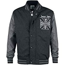West Coast Choppers OG Cross Wool Baseball Jacket