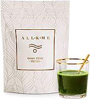 Super greens en Superfood poeder - Green Drink: groene thee, erwtenproteïne, psyllium, spirulina chlorella, al