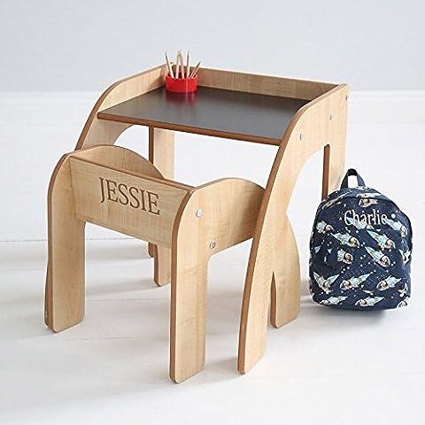 Mi bebé primera pizarra escritorio con pequeña bolsa de mochila