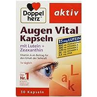 Doppelherz aktiv Augen Vital Kapseln mit Lutein plus Zeaxanthin, 30 Kapseln, 20.2 g preisvergleich bei billige-tabletten.eu