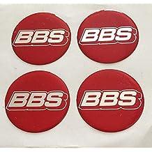 BBS 4 Unidades 70 mm Pegatinas Emblema para Llantas Buje Tapa Tapacubos