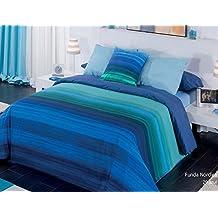 Funda nórdica Jamaica Azul 3 piezas cama de 150