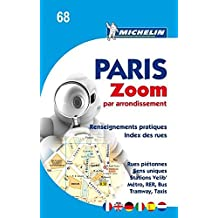 Michelin Paris Zoom par arrondissement: Stadtplan (Michelin Stadtplan)