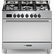 Bompani BO 683 DD N Edelstahl Gas Elektro Standherd 90cm Range Cooker In Tech