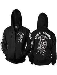 SOA American Reaper Zipped Hoodie