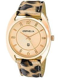 Mujer-reloj analógico de cuarzo Orphelia piel sintética OR22172177