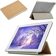 avidet Ultra Slim Carcasa Case ultraligeros Soporte Smart Shell Cover Para Teclast X98Plus II Funda para Teclast X98Plus II–Tablet PC dorado dorado