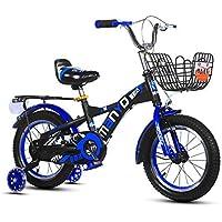 4ebafb94ca7496 Bici Bambini Bicicletta Altezza Regolabile Bicicletta di Montagna Doppio  Freno Ragazzo Ragazza Sicurezza Damping 14 Pollici
