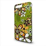 YOUNiiK Handyhüllen Case Cover für Apple iPhone 7 Plus - Retro Flowerpower