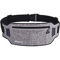 EXski Running Waist Pack Bum Bag Cycling Jogging Sports Waist Belt Bag Pouch for iPhone X/ 8 Plus Women Men