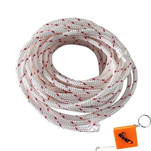 HURI 5m lang 3,5mm Starterseil Seil für Stihl Husqvarna Dolmar Echo Rasenmäher Schneefräsen Motorsensen Motorsägen Motorgartengeräte