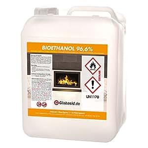 bio ethanol 30 l 96 6 f r kamin brennstoff f r deko kamine im innen und au enbereich. Black Bedroom Furniture Sets. Home Design Ideas