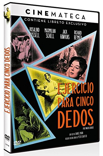 Cinemateca: Ejercicio para Cinco Dedos (Five Finger Exercise) 1962