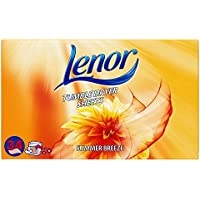 Lenor Fabric Softener Tumble Dryer Sheets Summer Breeze 408 Sheets (12 x 34 pack)