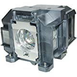 Lutema Economy for Epson ELPLP67 Projector Lamp with Housing
