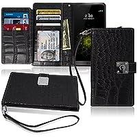 LG G5 Custodia, Arium [CDiary] Premium Portafoglio [TPU Bumper] In
