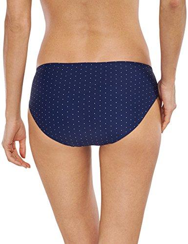 Schiesser Damen Bikinihose Bikini-slip Panty Blau (admiral 801)