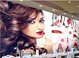 Yosot 3d Dekorative Innenraum Tapeten Schöner Kosmetik Nail Shop Make-Up-Tooling Hintergrundbild-300Cmx210Cm