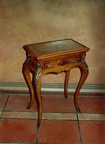 LouisXV Barock Beistelltisch Tisch Antik Stil rokoko MoAl0443 antik Stil Massivholz. Replizierte...