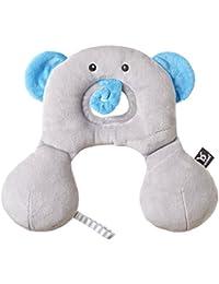BenBat Amigos de Viaje 0-1 - Reductor y cojín cervical diseño elefante