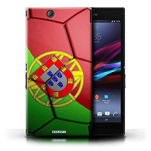 Kobalt® Imprimé Etui / Coque pour Sony Xperia Z Ultra / Allemagne conception / Série Nations de Football Portugal