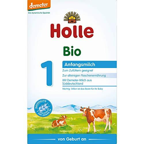 Holle Bio Bio-Anfangsmilch 1 (6 x 400 gr)