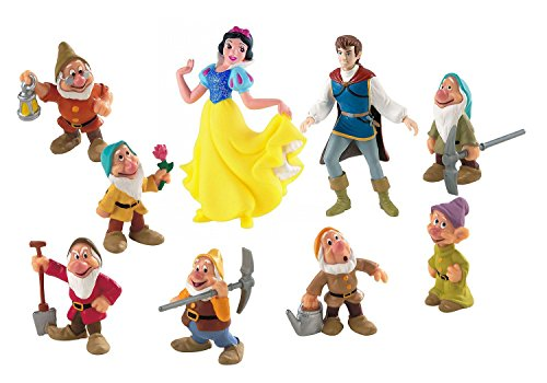 Königin Die Böse Disney (Bullyland 12049 - Spielfigurenset - Walt Disney Schneewittchen)