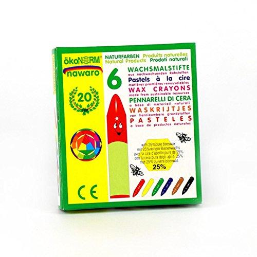 Crayons Oekonorm, 6 couleurs